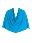 Tees by Tina Cashmere Ruana - Turquoise SOLD OUT
