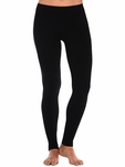 Tees by Tina Micro Rib Legging - Black - RESTOCKED!