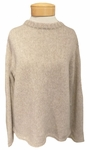 Velvet Byrdie Baby Alpaca Light Sweater - Oatmeal