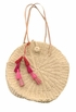Velvet Estella Straw Bag - Natural