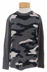 Velvet Henna Camo Long Sleeve Sweater - Multi