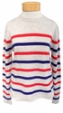 Velvet Jorgie Stripe Long Sleeve Sweater - Multi