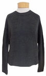 Velvet Rayna Mixed Stitch Pullover Sweater - Military - (Size S)