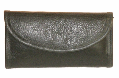 Womans Wallets ww-6 Black made in USA