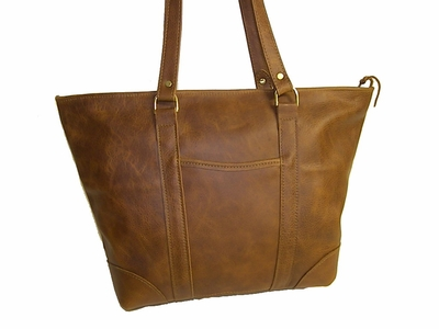 Leather Tote Bag Made in USA #513<br>