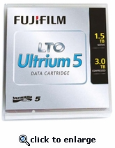Fuji LTO-5 Tapes 1.5TB/3TB, Part # 16008030