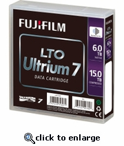 Fuji LTO-7 Tape Ultrium, 6TB/15TB LTO-7, Part # 16456574