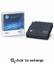 HP LTO-7 Tape Ultrium, 6TB/15TB LTO-7, Part # C7977A