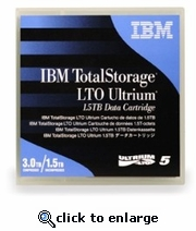 IBM LTO-5 Tapes 1.5TB/3TB, Part # 46X1290