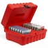 Turtle 4mm Tape Case- 14 Capacity, Red, Part # 06-673709