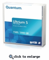 Quantum LTO 5 Tapes 1.5TB/ 3TB, Part # MR-L5MQN-01