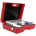 Turtle Ulti-Multi Red 25 Capacity LTO/ DLT / Multiple Formats Case