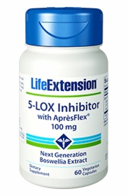 5-Lox Inhibitor with ApresFlex - Life Extension - 4-Pak