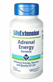 Adrenal Energy Formula - Life Extension - 120 Vegetarian Capsules