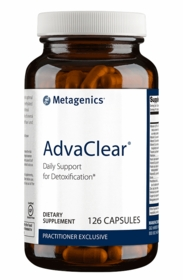 Advaclear - Metagenics - 126 Capsules