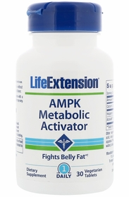 AMPK Metabolic Activator - Life Extension - 30 Vegetarian Tablets