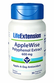 AppleWise Polyphenol Extract - Life Extension - 30 Vegetarian Capsules (600 mg)