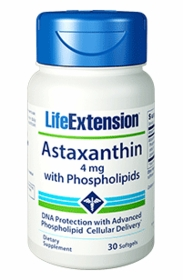 Astaxanthin with Phospholipids - Life Extension - 30 softgels - TwinPak