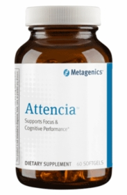 Attencia - Metagenics - 60 Softgels