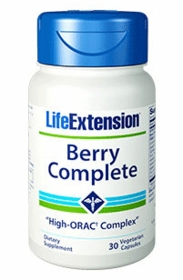 Berry Complete High-ORAC Complex - Life Extension - 30 Vegetarian Capsules