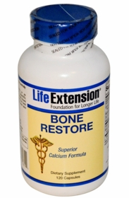 Bone Restore with FruiteX B OsteoBoron - Life Extension - TwinPak