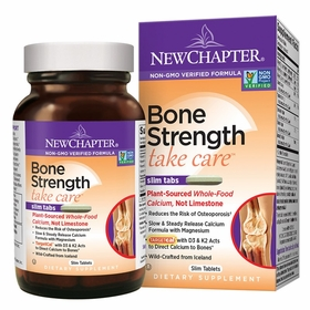 Bone Strength Take Care - New Chapter - 120 Slim Tabs