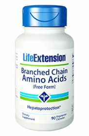 Branched Chain Amino Acids - Life Extension - 90 Caps