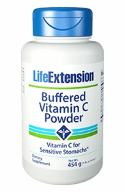 Buffered Vitamin C Powder (454.6 grams) - Life Extension