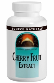 Å Å Cherry Fruit Extract (500mg) - Source Naturals - 180 Tabs - TwinPak