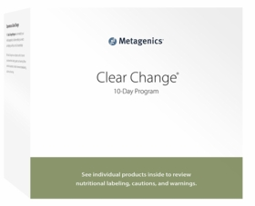 Clear Change 10 Day Program - Metagenics - Chai