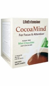 CocoaMind Sugar-free Mint Chocolate Hot Cocoa Mix - TwinPak