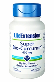 Super Bio-Curcumin (400 mg) - Life Extension - 60 Vegetarian Capsules