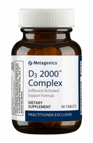D3 2000 Complex (formerly Iso D3) - Metagenics - 90 tabs