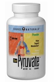 Å Å Diet Pyruvate Powder (3oz) - Source Naturals (3oz) - Tri-Pak
