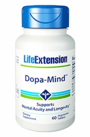 Dopa-Mind Wild Green Oat Extract - Life Extension - 60 vegetarian tablets