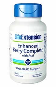 Enhanced Berry Complete with Acai - Life Extension - 60 vegetarian capsules