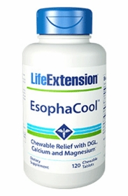 EsophaCool - Life Extension - 120 chewable tablets - TwinPak