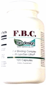 F.B.C. LipoSan Ultra - Bio-Design - 120 Caps