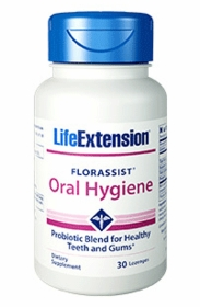 Florassist Oral Hygiene - Life Extension 30 Lozenges - 4-Pak