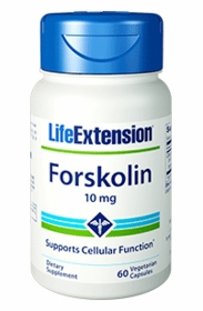 Forskolin (10 mg) - Life Extension - 120 Vegetarian Capsules - Twin Pak