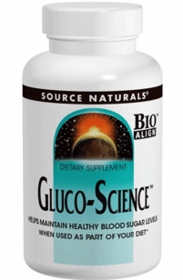 Å Å Gluco-Science - Source Naturals - 90 Tabs