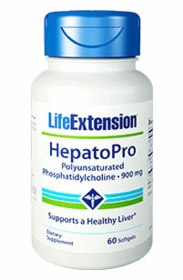 HepatoPro (Polyunsaturated Phosphatidylcholine) (900 mg) - Life Extension - 60 Softgels (900 mg)