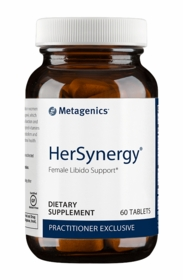 HerSynergy Metagenics Female Libido Support 60 Tabs - TwinPak