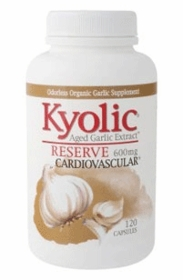 Kyolic Reserve - Aged Garlic Extract Capsules (600mg) - 120 Caps