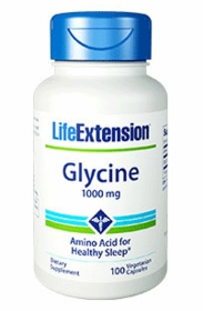 Glycine Capsules (1000 mg) - Life Extension - TwinPak