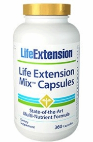 LE Mix Capsules (360 Caps) - Life Extension - 4-Pak