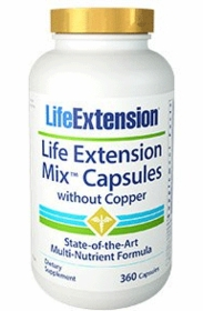 LE Mix Capsules without Copper - Life Extension - 360 Caps