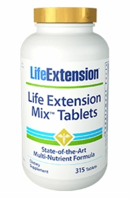 LE Mix Tablets (240 Tabs) - Life Extension - 4-Pak