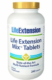 LE Mix Tablets - Life Extension - 240 Tablets