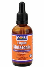 Liquid Melatonin - Now Foods - 2.fl.oz each TwinPak